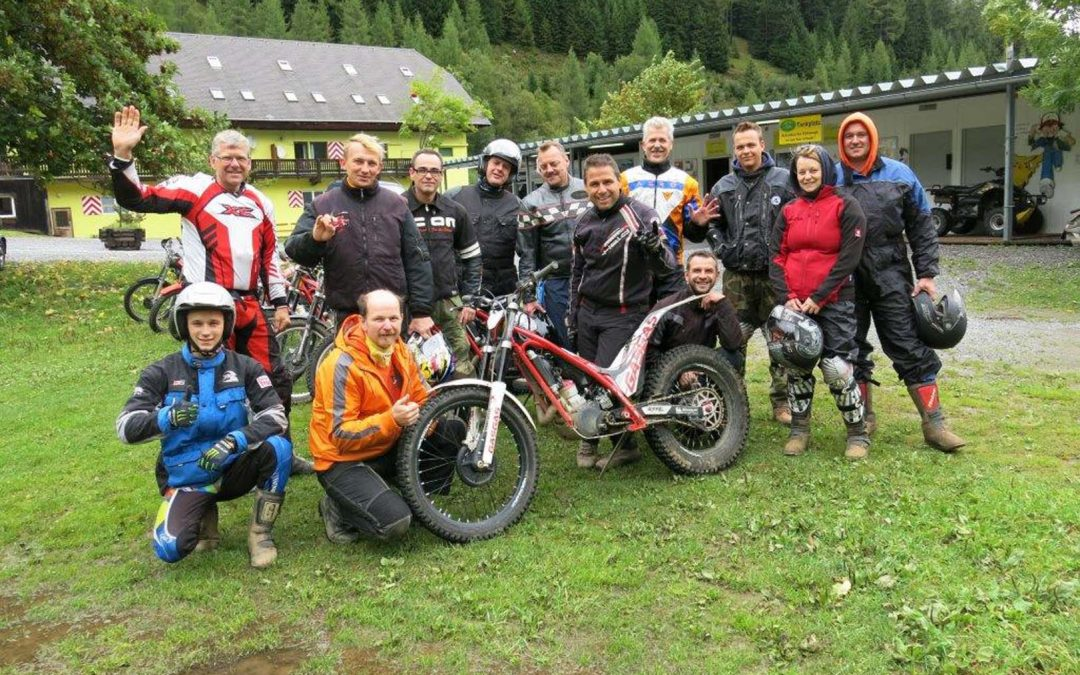 Trial-Training am Salzstiegl