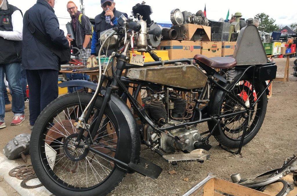 4. Motorradflohmarkt der Gänse
